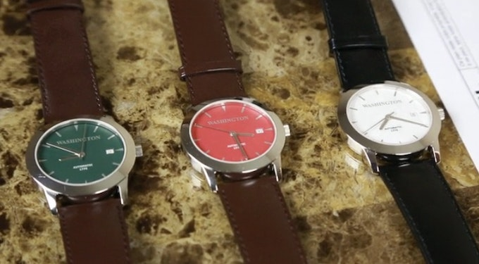 Deep Green, Deep Red, and Luminary (White)