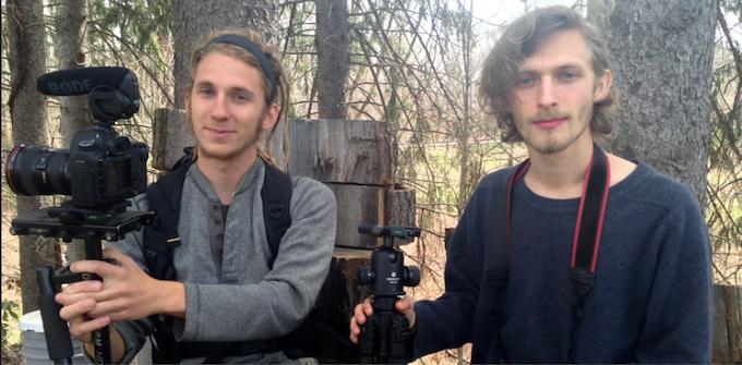 Filmmakers Costa Boutsikaris and Emmett Brennan