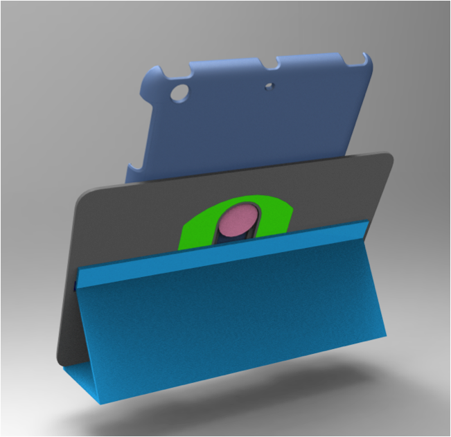 First CAD rendering of components