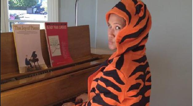 Tiger mom-- uhhh,  producer.