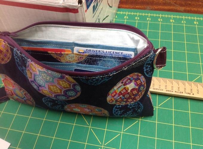 Bags from textiles artist Jill Spyker.