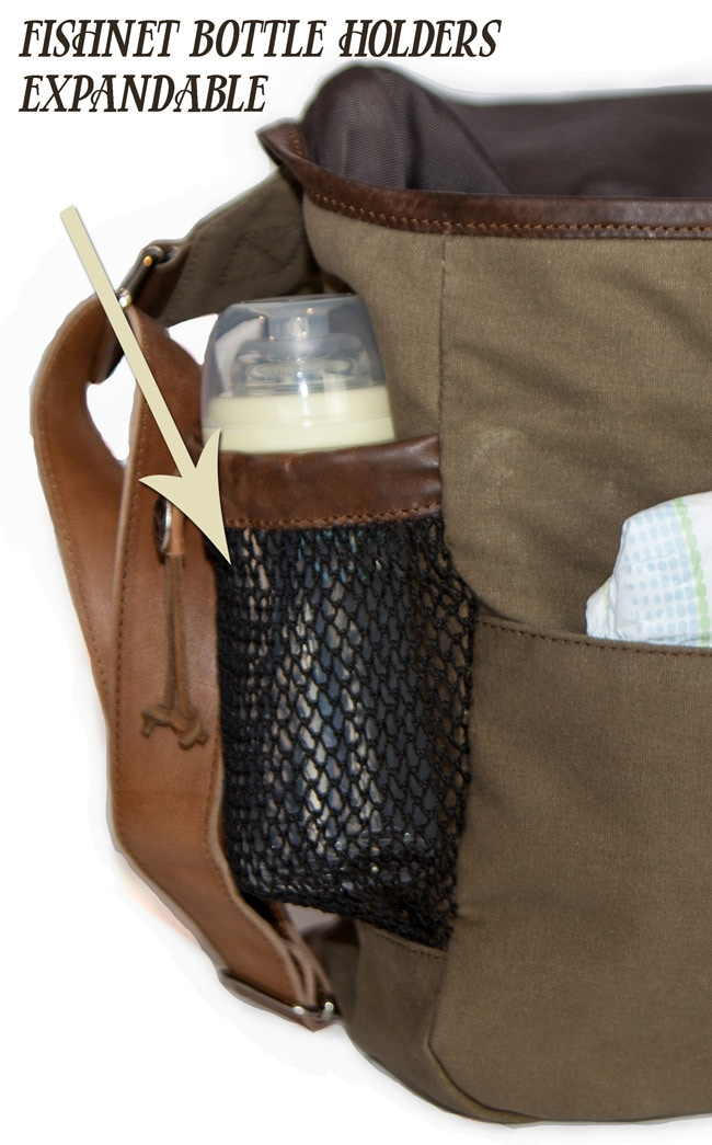 f90b7372cdc9 The Elkton Diaper Bag by Buffalo Jackson Trading Co by Xan Hood ...