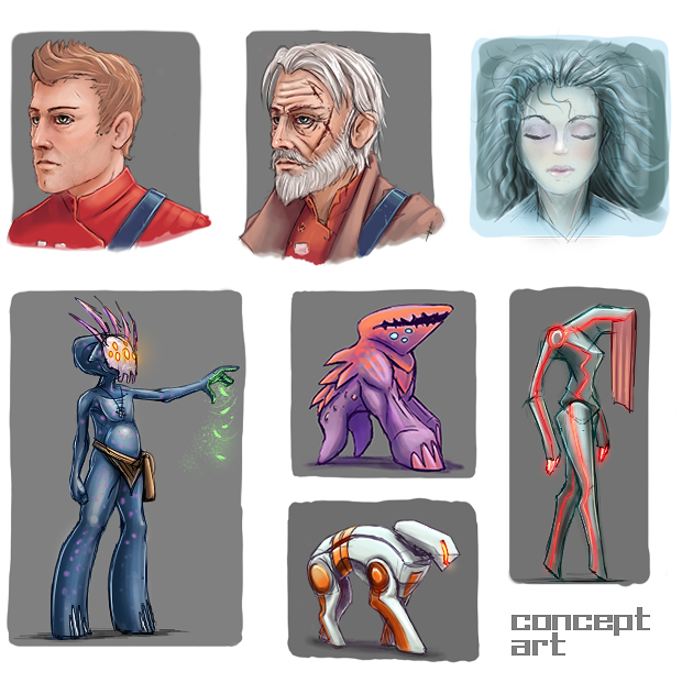 Some of the concept art