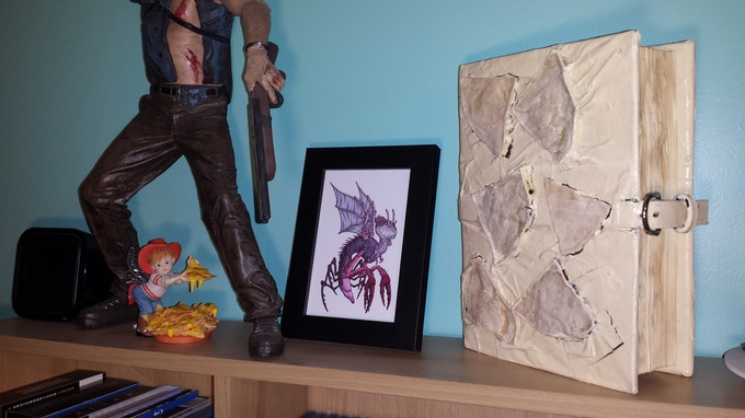 Also looks great next to your talking Ash figure, Migo Art, and dead-eyed Nacho Fairy.