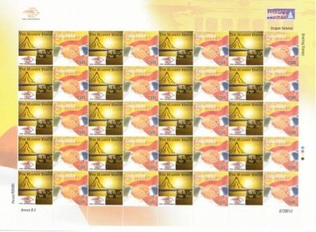 Indonesian Rarest Rhino Stamp Sheet