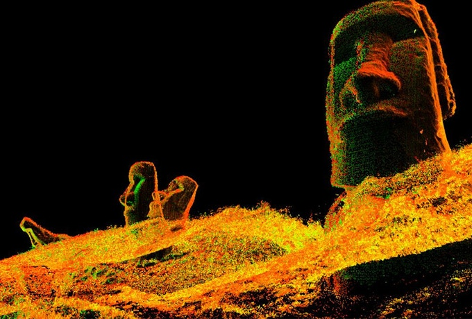 Example of a perspective image (Rapa Nui)