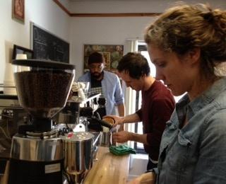 Training Hard At Stumptown Coffee Roasters