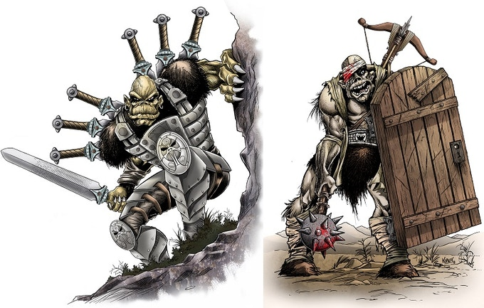 The Imperial Breakers is an all-ogre platoon of relentless warriors infamous for raging tempers and for breaking sieges. Bolg Great-Fang, their leader, once punched out a Thunder Rider's rhino during a dispute over which unit had won the battle.