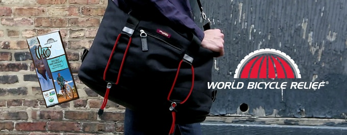 Special Edition World Bicycle Relief Bike Share Bag