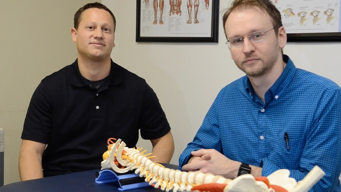 Corey Fleischer: Mechanical Engineer & Gene Shirokobrod: Doctor of Physical Therapy