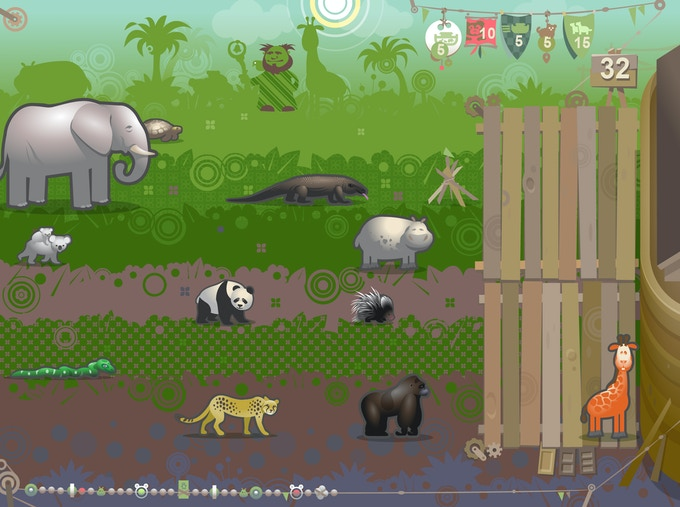 Load the Ark - Jungle Level