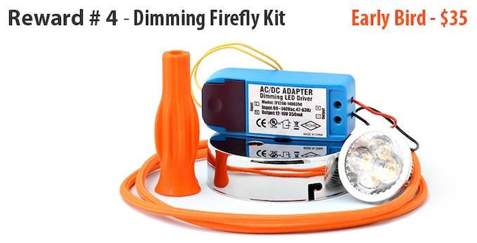 Orange LED kit shown (one of four colour choices)