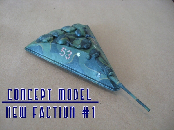 New Faction concept model