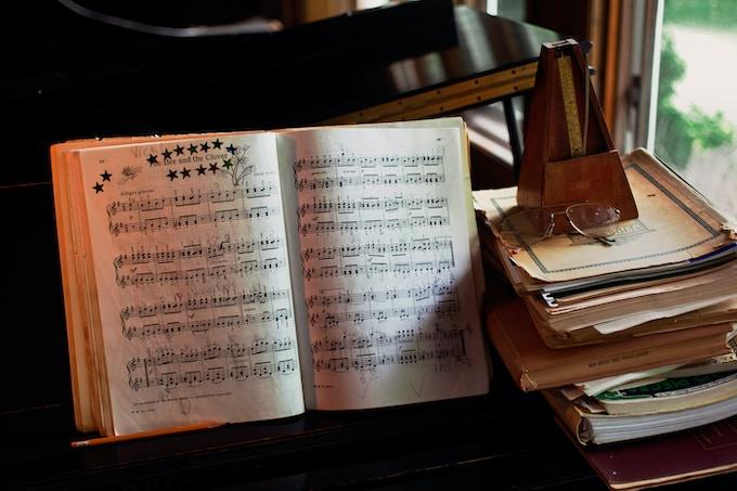 Piano Room in Victoria's House