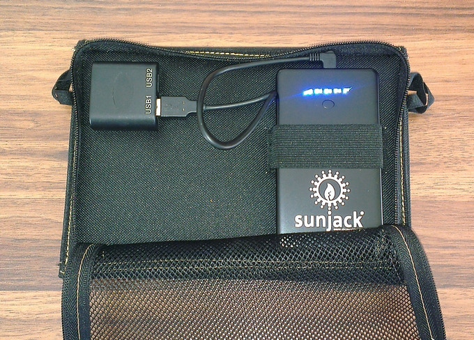 Sunjack 174 Solar Charger Portable Energy Independence By