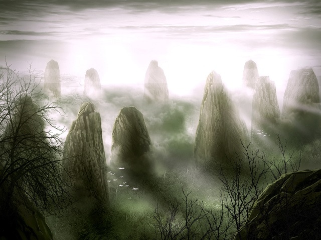 The Forest of Stones is a nexus of arcane energy. It could be a monument built by some extinct race, but any records of its creators or purpose were lost in the Godsfall.