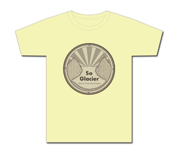 Glacier Drawing Project T-Shirt