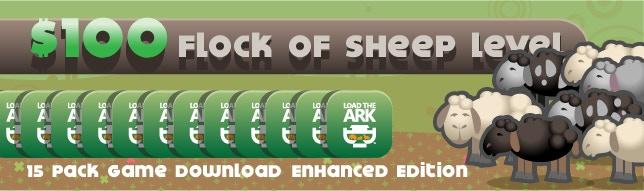 Flock of Sheep - Educational & Group Pledge Level