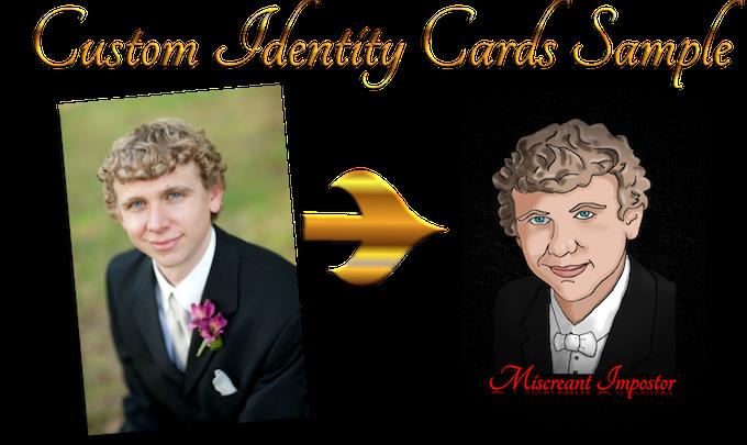 Custom Miscreant Impostor Card design concept