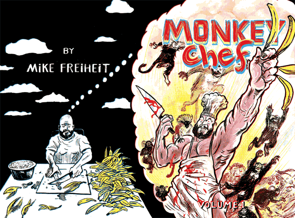 Monkey Chef #1 Cover