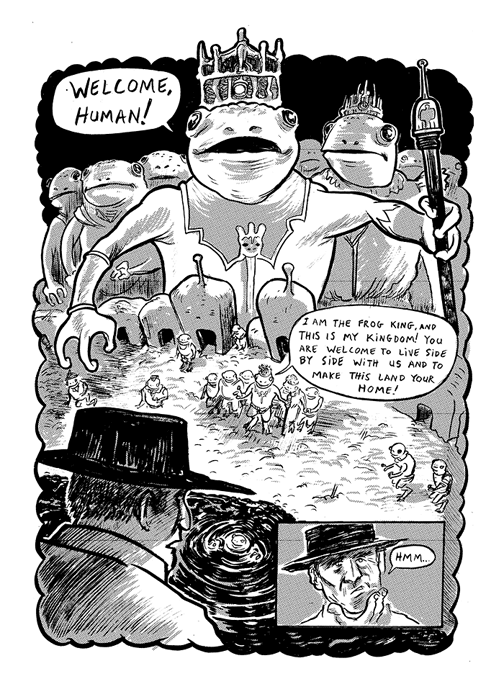 Excerpt from Monkey Chef #1