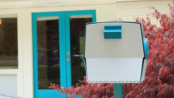 Restored Vintage Mailbox