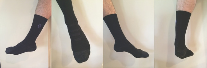 Latest Prototype of the GoodFoot Sock - 4/29 - Merino Wool/Spandex/Polyster/Acrylic