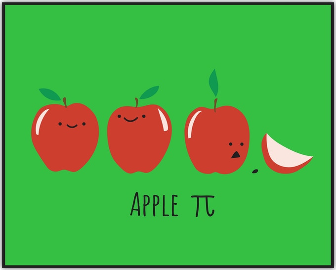 Apple Pi (Adult sizes only)