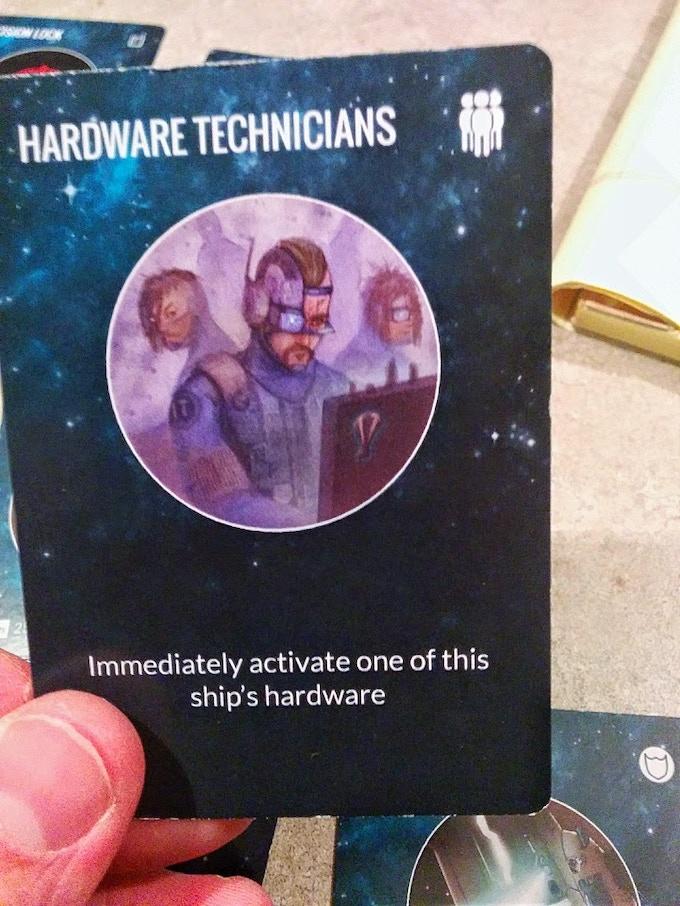 Hardware Technicians First Print Run
