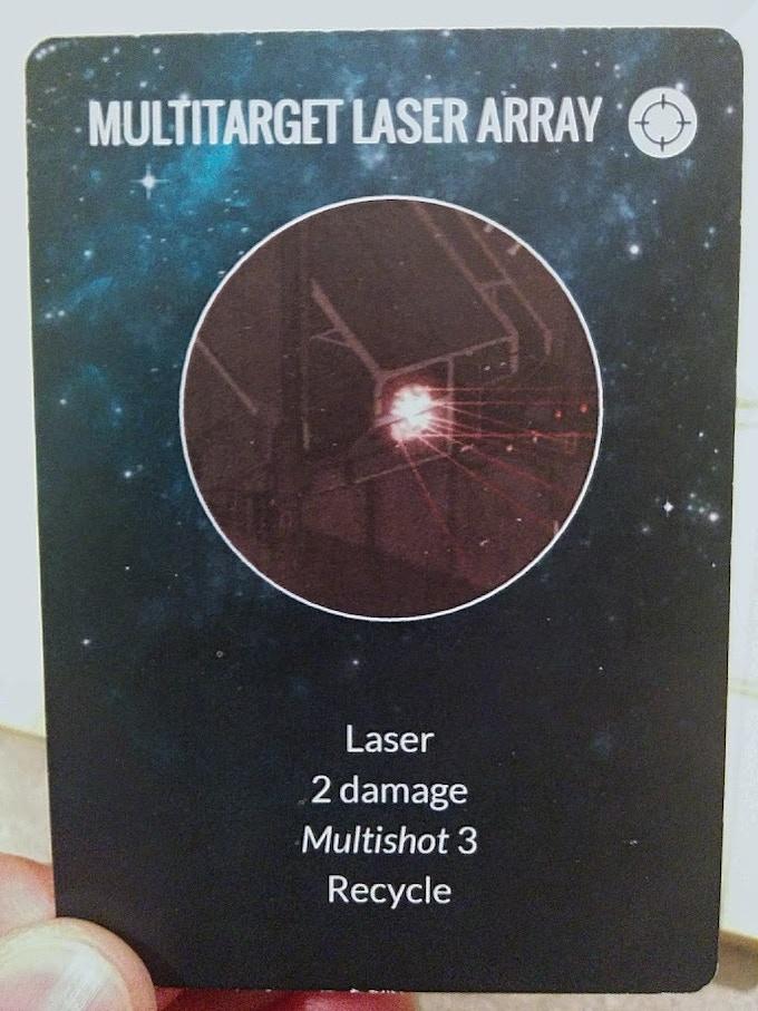 Multitarget Laser Array First Print Run