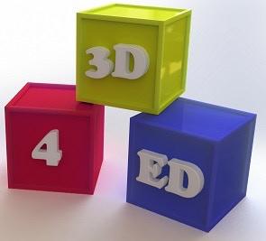 3D for ED desktop figurine