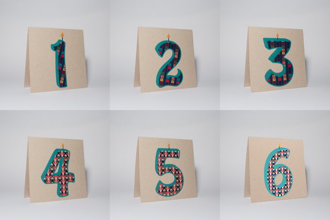 Candle Number Card Set; Perfect for that upcoming birthday, young or old, you'll be sure to put a smile on their face! OR hey, they even work great for that Anniversary celebration. Wedding, Couples, Birthdays, or anything else you can think of!
