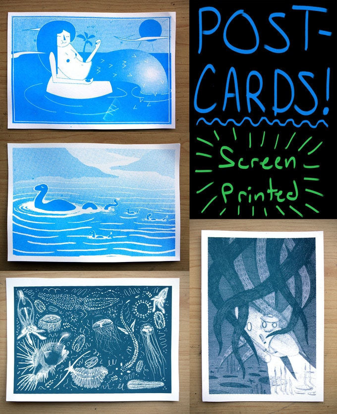 Post-cards!