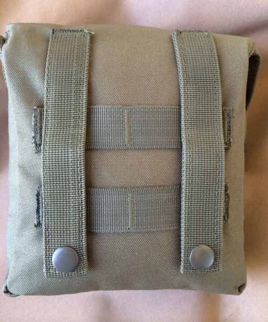 Back of SURVIVAL! Pouch