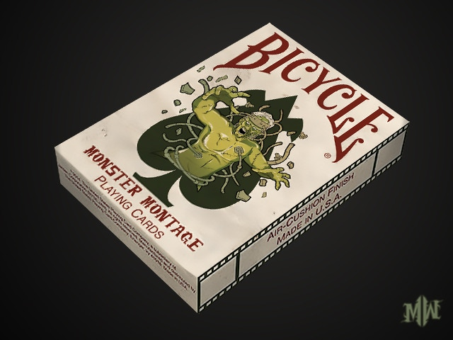 News: Bicycle Monster Montage Playing Cards Remastered