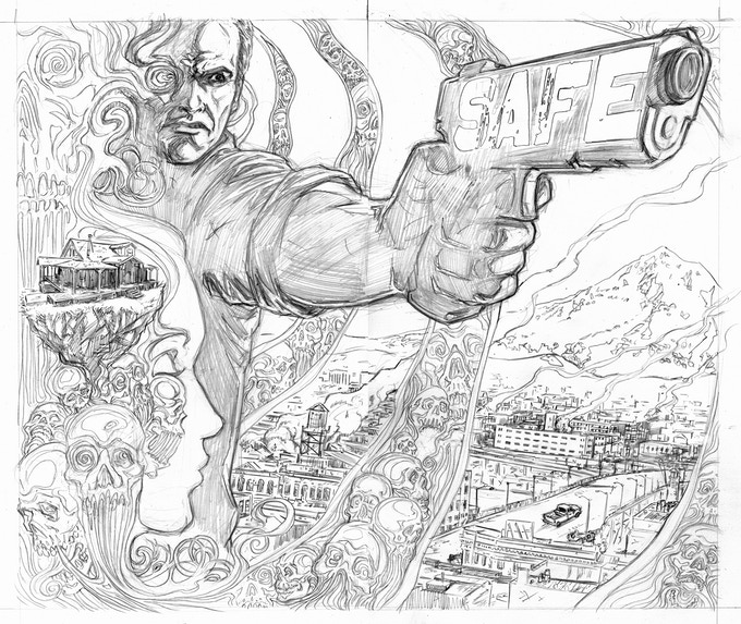 Cover pencils. Galusha.