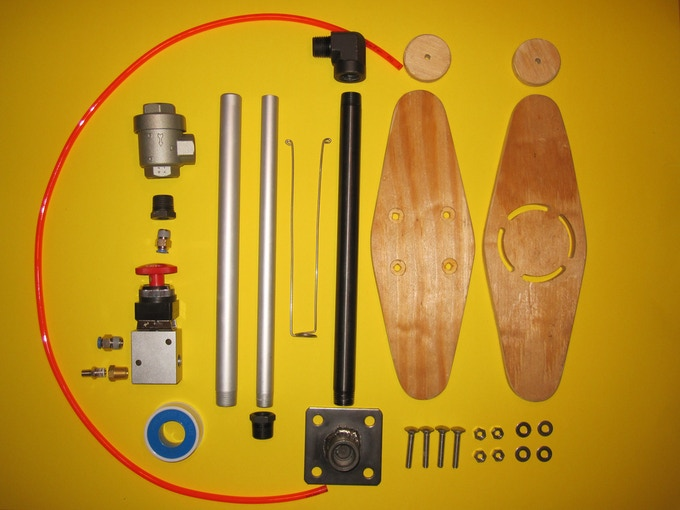 CAR 2.0 kit of parts.  Click image to view build instructions.