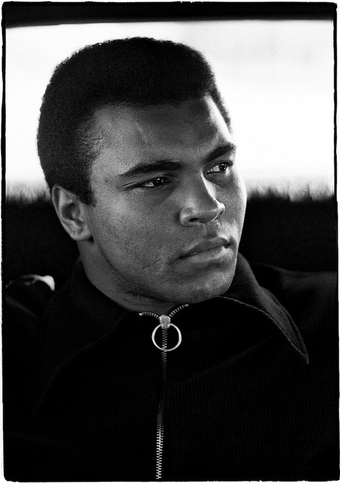 < J > Ali in the limo in Miami Beach