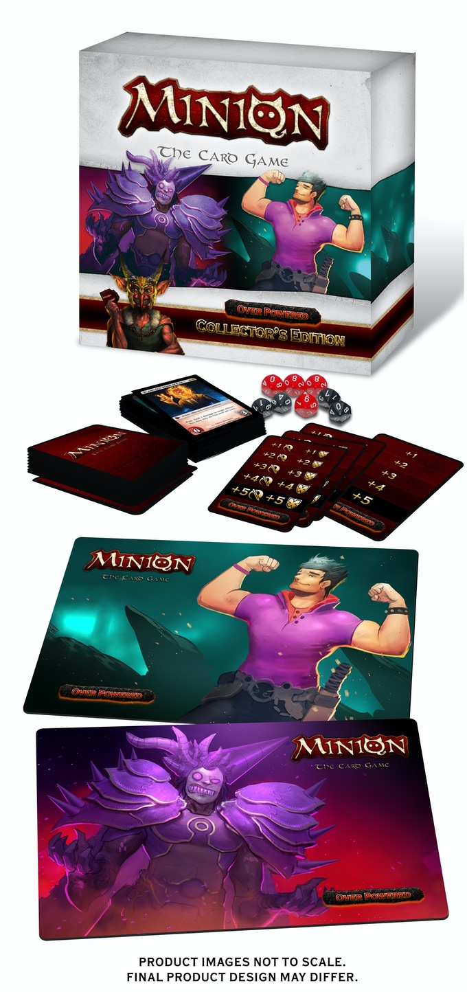 Product varies depending on pledge amount. The Collector's Edition design and contents shown is a prototype and may differ from final product.
