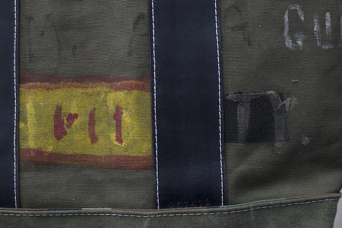 Detail of Unique Decoration and Double Boot