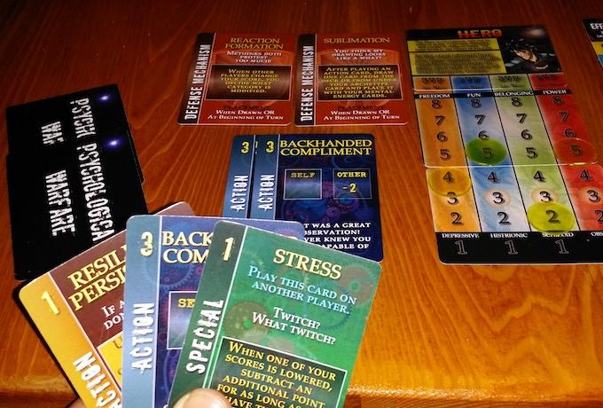 PSYCHOLOGICAL WARFARE: Strategic Card Game by DPH Games Inc