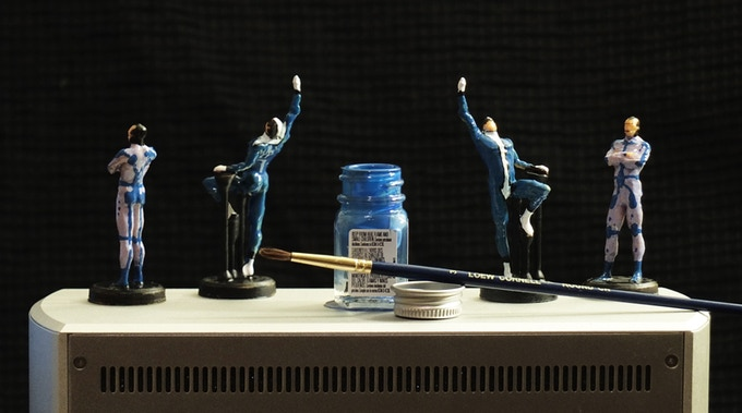 Power Posers - Miniature anatomical figurines for artists by Digital