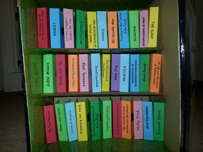 Prototype of the older book titles