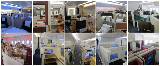 A380 First Class Products