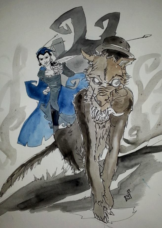 The werewolf John Watson escapes the attentions of the fearless Bunny Moran!