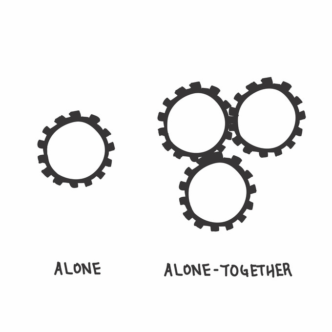 """""""Do it Alone, Together"""""""
