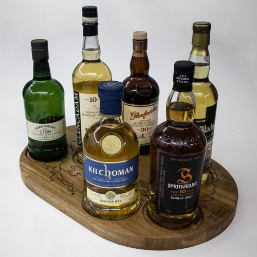 The Traveller with single malts