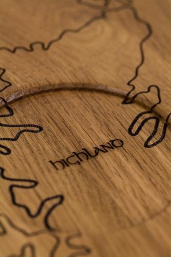 Place for a Highland malt