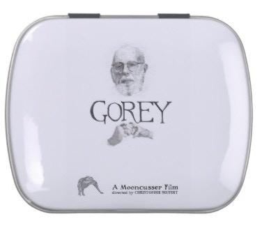 Edward Gorey Documentary Altoid Tin