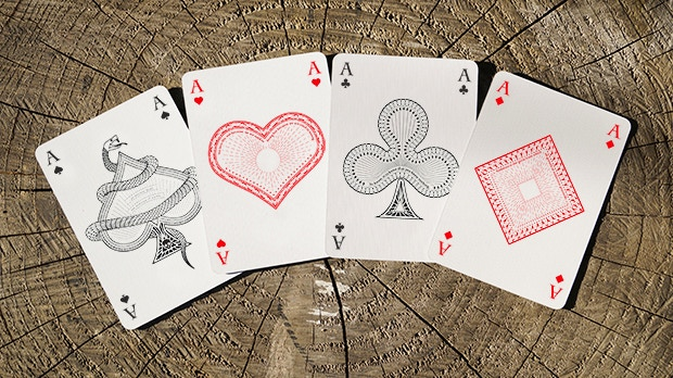 The Ace of Spades, Hearts, Clubs and Diamonds